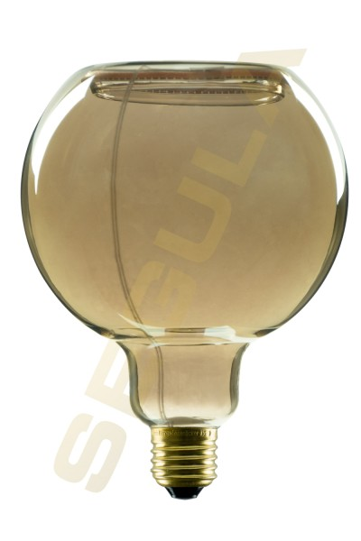LED Floating Globe 200, smokey grau, E27, 2000 K
