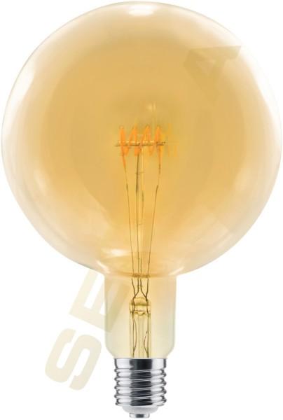 LED Globe 200 Curved, Gold, E40, 50401