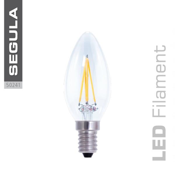 LED AMBIENT DIMMING Kerze, klar [E14|4,0 W (26 W)|260 Lm|2.200 -2.900 K]