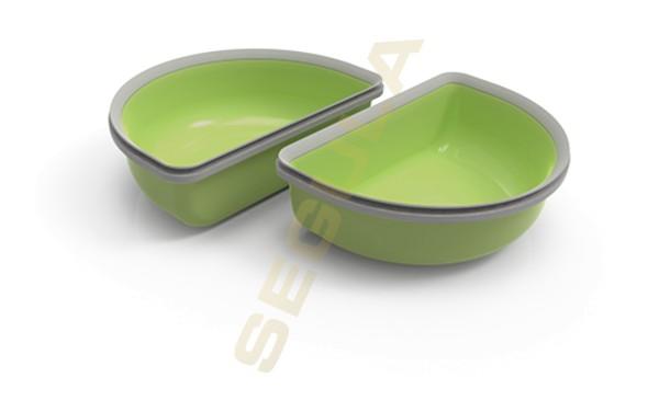 Halbschalen Set grün 2 x 200 ml, 70961