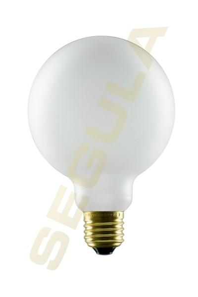 LED Globe 95 satiniert, E27, 50290