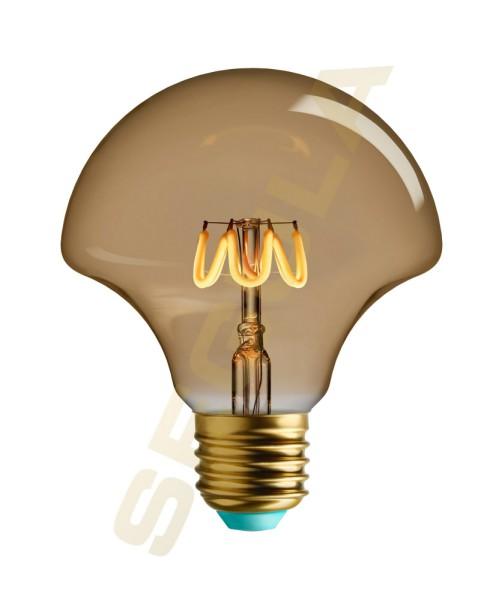 LED PLUMEN Willow gold, E27, 50007