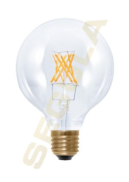 LED Globe 95 klar, E27, 50283