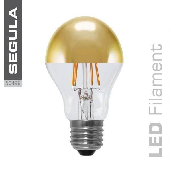 LED Spiegelkopf Glühlampe gold |E27|4,0 W (21 W)|250 Lm|2.000-2.900 K]