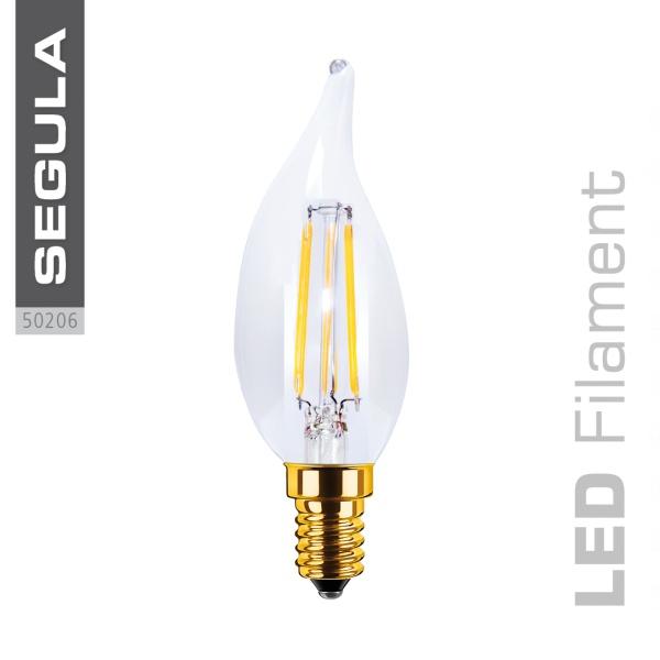 LED Kerze Windstoß klar |E14|3,5 W (20 W)|200 Lm|2.200 K|
