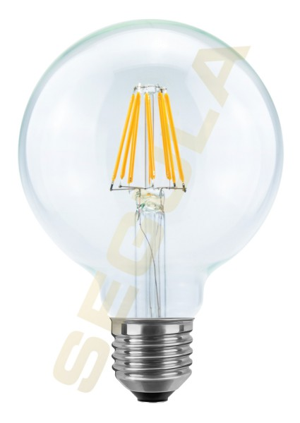 LED Globe 95 klar E27 60820