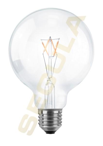 LED Globe 95 klar Ambient Dimming, E27, 50266