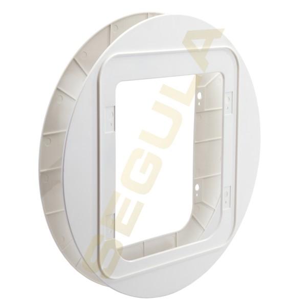 SureFlap Haustierklappe Montageadapter weiß, 70945