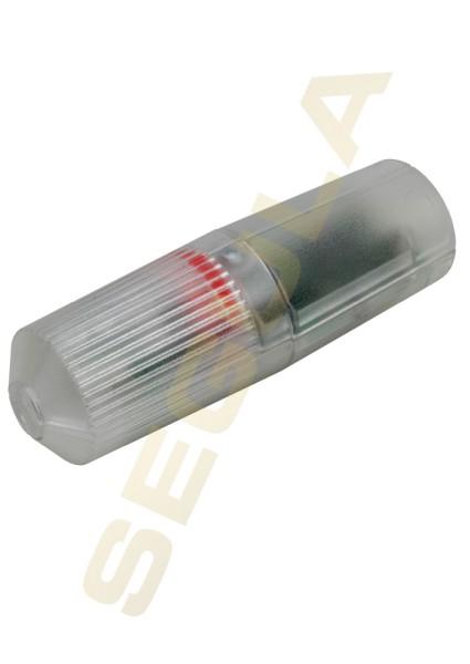 LED Schnurdimmer Drehschalter transparent 50843