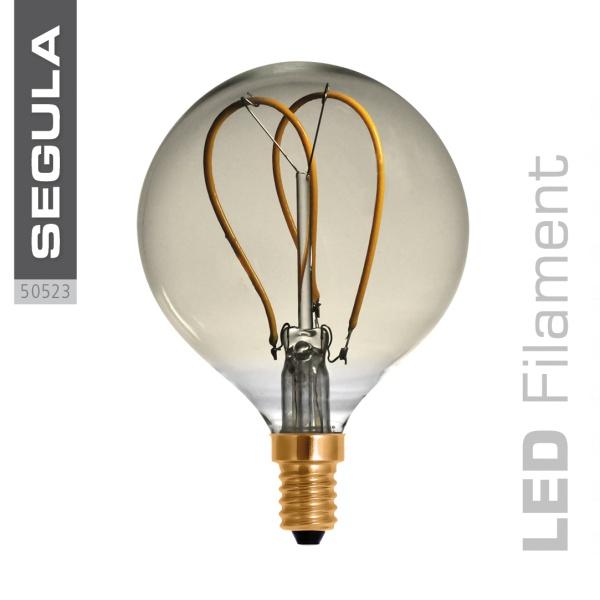LED Globe 80 Curved Golden |E14|4 W (15 W)|140 Lm|2.200 K|