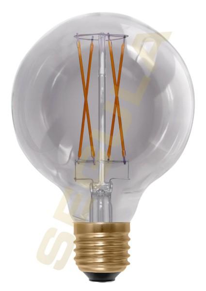 LED Globe 95 Smokey grau, E27, 50502