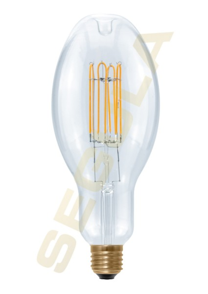 LED Ellipse 90 Curved U klar, E27, 50797