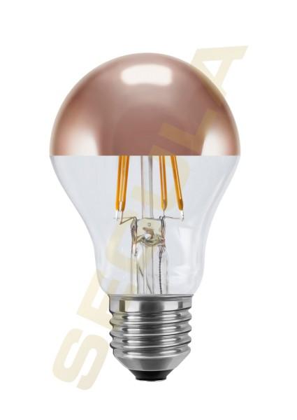 LED Ambient Dimming Glühlampe Spiegelkopf kupfer E27 50497