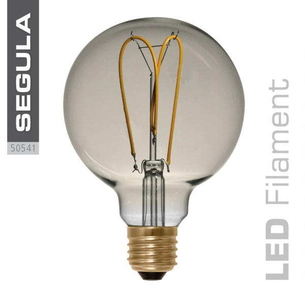 LED Globe 125 Curved Golden |E27|4,0 W (15 W)|140 Lm|2.200 K|