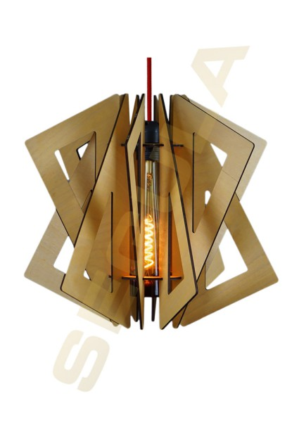 Wood light Uakari warm summer 70004