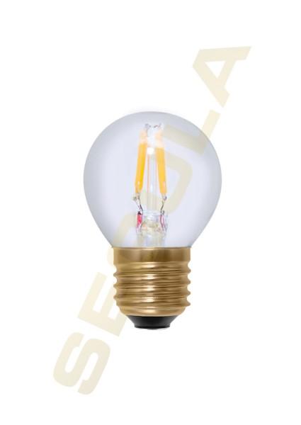 50833 LED Golfball klar 24 V DC, E27