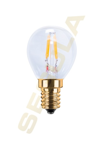 LED Mini-Glühlampe klar E14