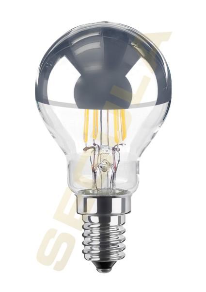 Glühlampe E14 Spiegelkopf silber 60389