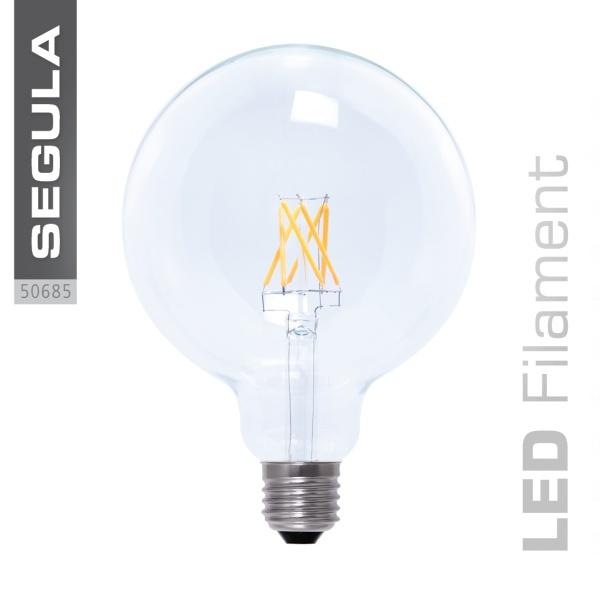 LED Globe 125 klar  E27 6,0 W (40 W) 470 Lm 2.600 K 