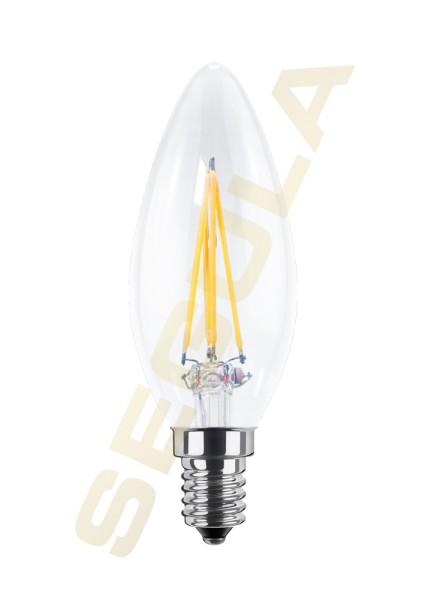 LED Ambient Dimming Kerze klar E14 50241