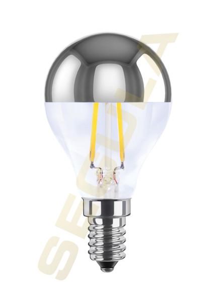 LED Tropfenlampe Spiegelkopf E14 50370