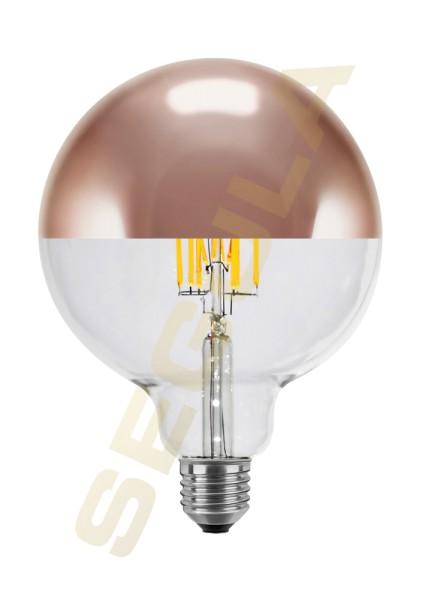 LED Ambient Dimming Globe 125 Spiegelkopf kupfer E27 50495