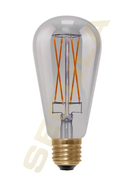 LED Rustika Long Style Smokey grau E27 50500