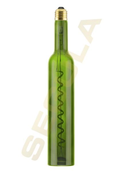 LED Wine Bulb grün 350ml E27 50117