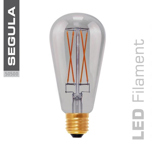 LED Smokey Rustica grey |E27|6,0 W (25 W)|250 Lm|2.000 K|
