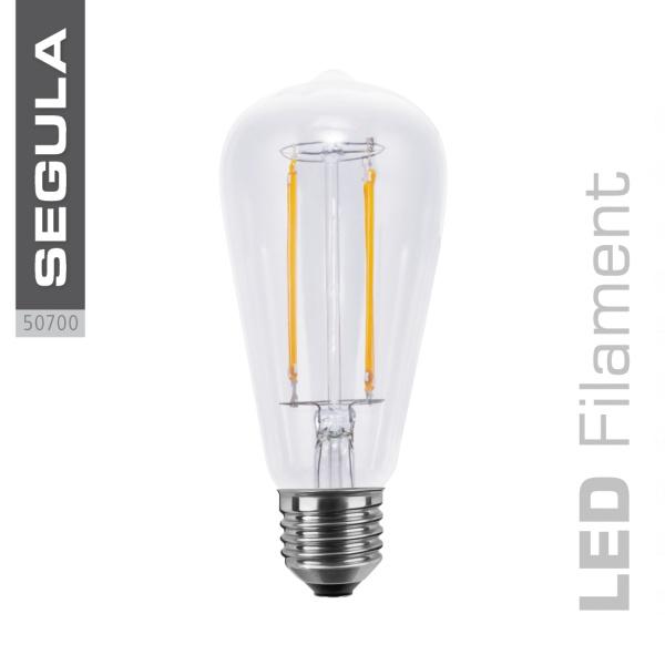 LED Rustika klar, Long Style |E27|6,0 W (40 W)|470 Lm|2.600 K|