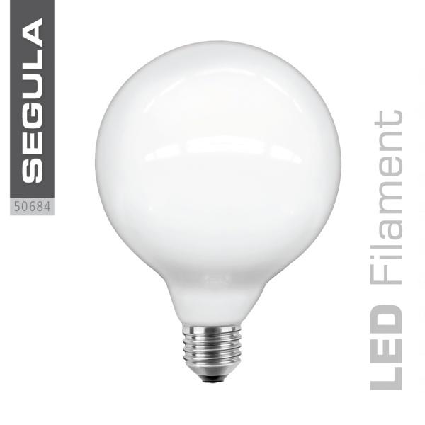 LED Globe 125 opal |E27|6,0 W (37 W)|420 Lm|2.600 K|