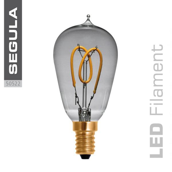 LED Radio Style Curved klar |E14|2,7 W (9 W)|90 Lm|2.200 K|