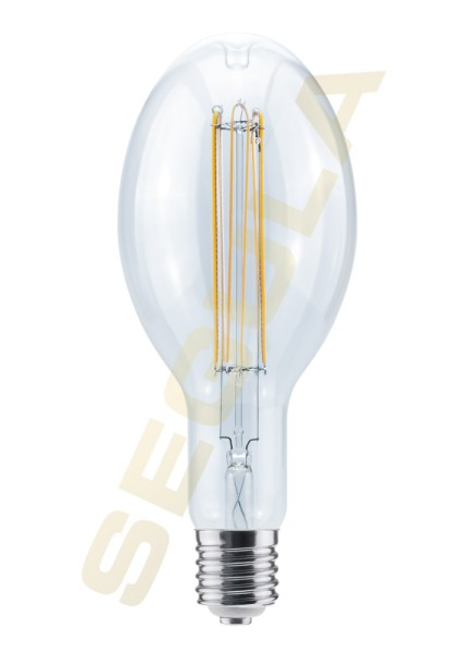 LED Ellipse 125 Curved U klar E40 50785