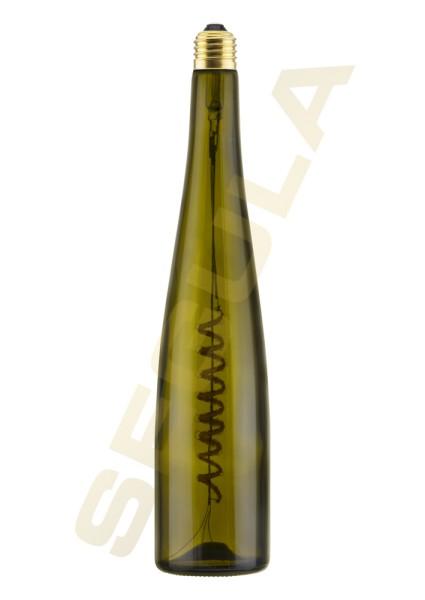 LED Wine Bulb grün 500ml E27 50112