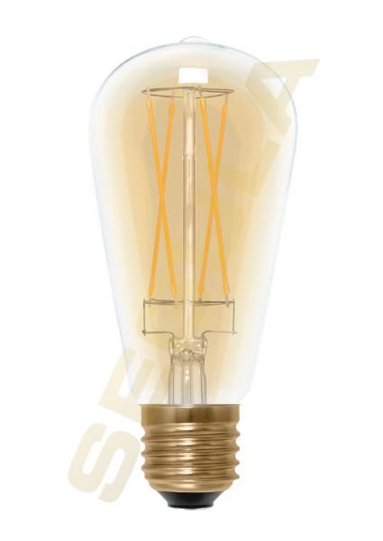LED Rustika Long Style gold, E27, 50295
