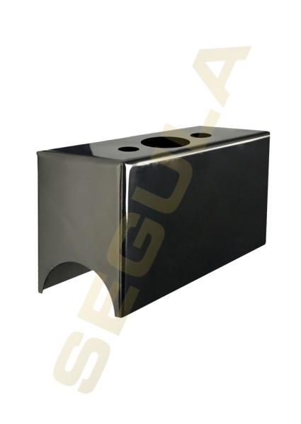 50574, S14d, Wandfassung, Metall schwarz