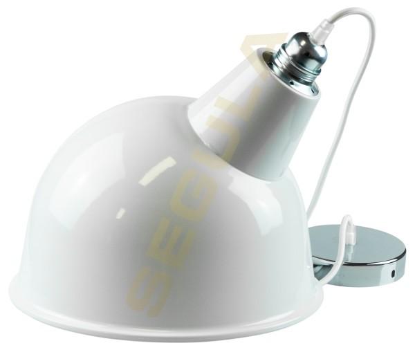80519 Lampenschirm BROADWAY - weiß - E27