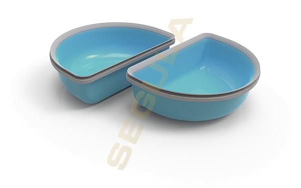SureFeed Halbschalen Set blau 2 x 200 ml, 70960