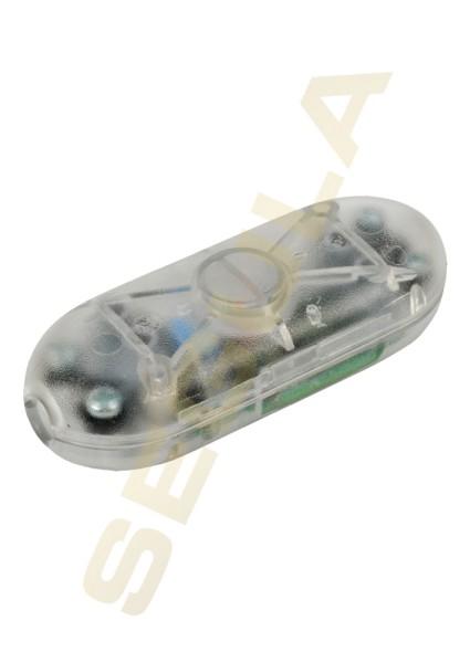 LED Schnurdimmer Taster transparent 50848