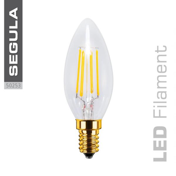 LED Kerze klar |E14|4,0 W (30 W)|320 Lm|2.200 K|