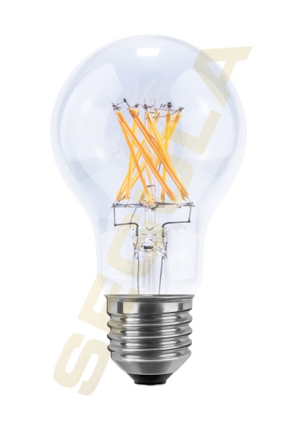 LED Glühlampe klar E27 2600 K 50337