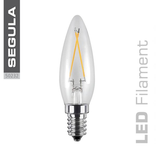 LED DUTCH Kerze, klar [E14|2,2 W (20 W)|200 Lm|2.600 K]