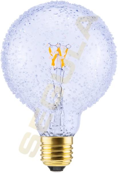 LED Globe 95 Kristall, E27, 50261