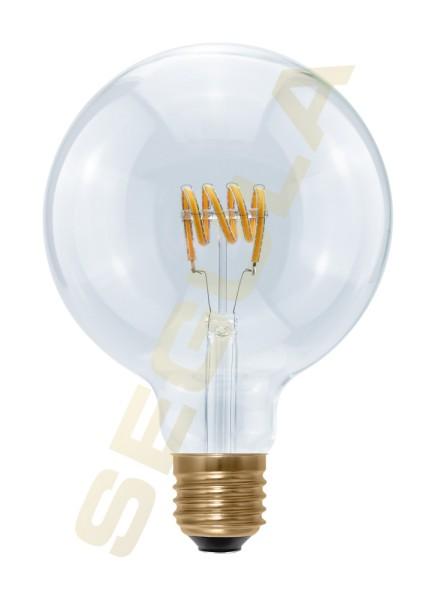LED Globe 125 Curved, E27, 50416