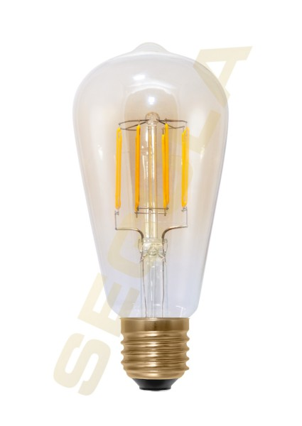 LED Rustika gold, E27, 50296