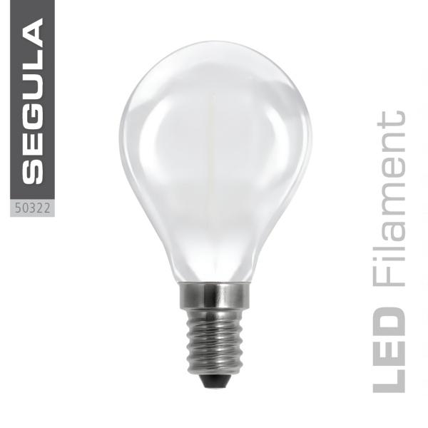 LED Tropfenlampe matt |E14|3,5 W (25 W)|250 Lm|2.600 K|
