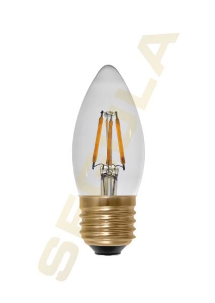 LED Kerze klar, 24 V DC, E27, 50832