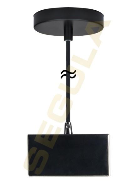 50578, Pendelleuchte, Metall schwarz, S14d
