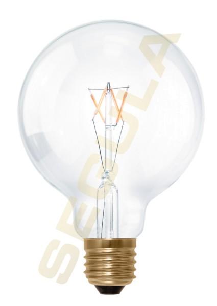 LED Globe 95 klar, E27, 50282
