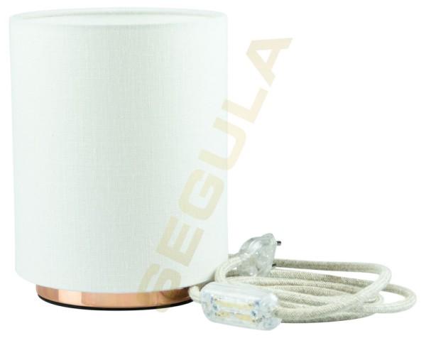 80524, Tischlampe, Lampenschirm, weiß, E27